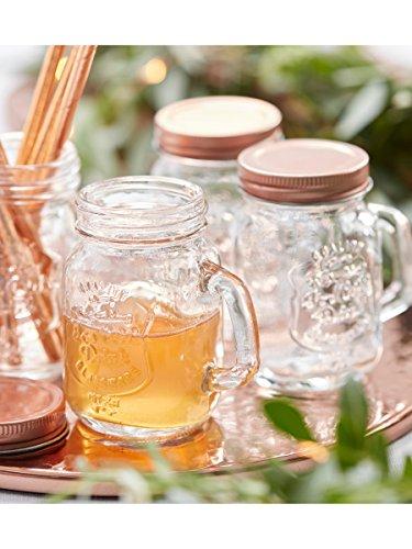 Henkelglas, Schraubglas | roségold - 2