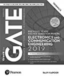 #2: Previous Years' Solved Question Papers: GATE Electronics and Communication Engineering, 2019 by Pearson