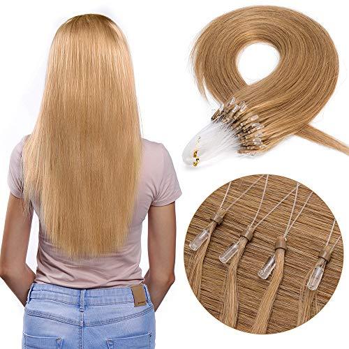 Extension capelli veri indiani con micro ring 22