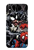 Case Me Up Coque téléphone pour iPhone XS Max Venom Spiderman Eddie Brock Mac...