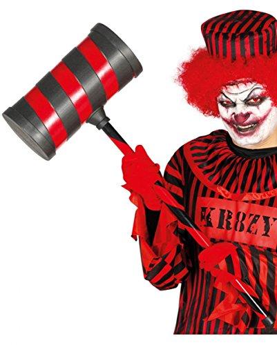 Großer Spielzeug Hammer für Clowns (Halloween Hammer Kostüm)