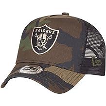 A NEW ERA Adjustable Trucker Cap – Oakland Raiders ... 6d8b6130bef