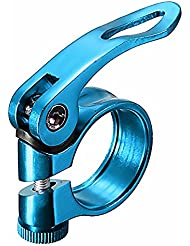 Nicedier-Tech Bicycle Bolt Binder Clamp,Aluminum Alloy Mountain Road Bike Seat Post Clamp