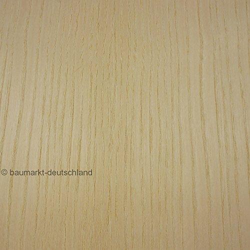 Echtholzfurnier mit Schmelzkleber 30cm Esche