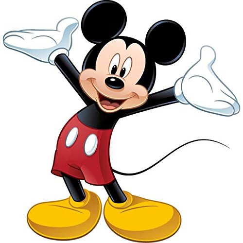 Image of RoomMates Disney Mickeys Clubhouse Mickey Mouse Giant Wall Sticker