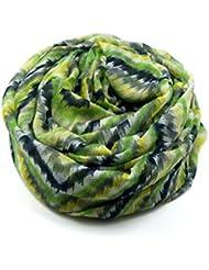 MZMZ ULTRA apretado el cuello cálido geométrica Elegante bufanda femenina ilimitado patrón impreso el otoño y el invierno.