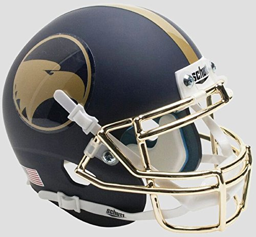 Schutt NCAA Georgia SouthEagles Mini Authentic XP Fußballhelm, Unisex, NCAA Georgia Southern Eagles Mini Authentic XP Football Helmet, Alt. 1, Mini