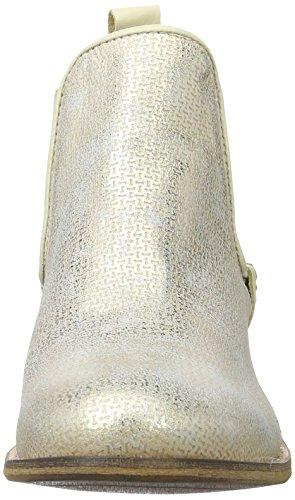 BUFFALO Es 30900 Flash De P926, Stivali Chelsea Donna Beige (CHAMPAGNE 16)