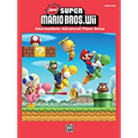 New Super Mario Bros. Wii for Piano: Intermediate-Advanced Sheet Music Piano Solos From the Nintendo® Video Game