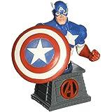 Marvel Capitán América Resin Set Pisapapeles Busto