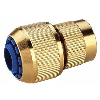 Aquajet 331B Automatische Schlauchverbinder mit 6Kugeln in Blister, Gold, 16/19