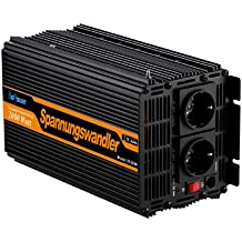 Inversor electrico de 2000 4000w transformador de voltaje de 12v a 220v de onda sinusoidal modificada