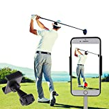 SIZIMA Golf Handyhalter Swing Recording Trainingshilfen - Universal Handy Cliphalter für Golf...