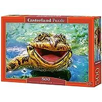 Comparador de precios CASTORLAND Castor País B de 52813Green & Fun, Puzzle de 500piezas - precios baratos