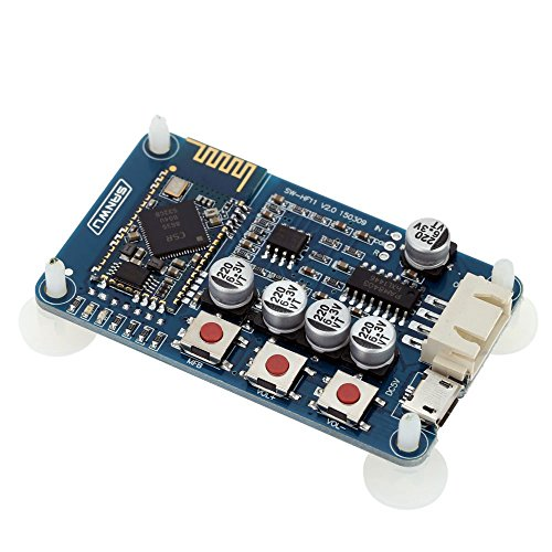 Amplifier Range Wireless (KKmoon Wireless Bluetooth 4.0 Audio Board Stereo Digitalverstärker Empfängermodul Mini USB 5V)