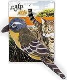 Katzenspielzeug Vogel mit Katzenminze Natural Instincts - Catnip Bird gelb