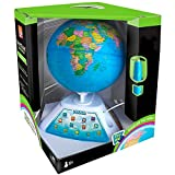 Oregon Scientific Smart Globe Discovery SG268 – Interaktives Lern-Spielzeug, Globus (spanische Version)