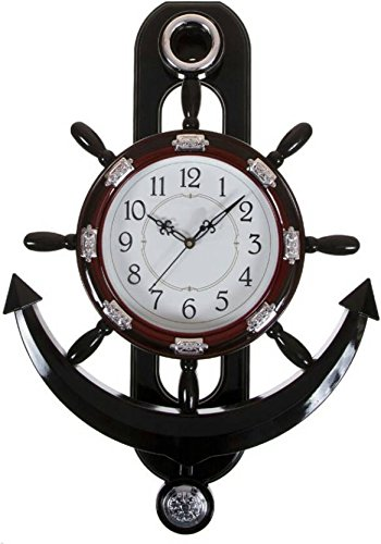 Your Choice-Sunray Analog Wall Clock (Cherry, With Glass) For Home Decoration and Gift for luxury gifs.