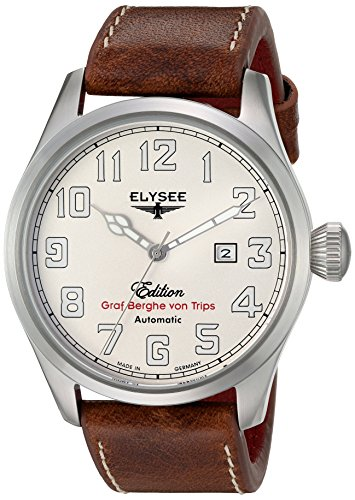 Elysee 46mm Hemmersbach Automatic Watch with Sapphire Crystal 38010