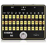 Caline CP-24 10-Band EQ égaliseur guitare pédales d'effets Guitare en alliage d'aluminium True Bypass