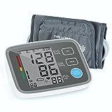 Digitale Oberarm-Blutdruckmessgerät mit LCD-Display Leicht und Tragbar Blutdruckmessgerät zur...