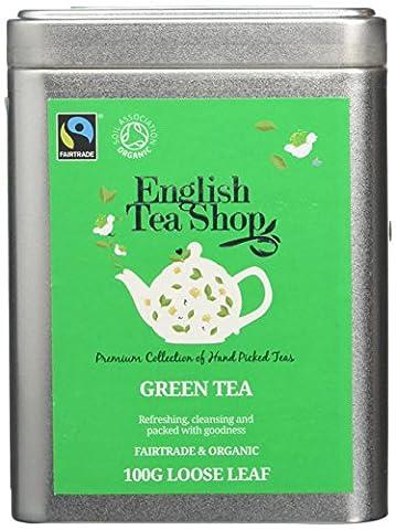 English Tea Shop Green Tea Fairtrade and Organic Loose Tea