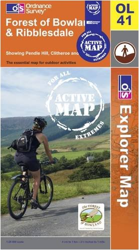 Forest of Bowland and Ribblesdale (OS Explorer Map Active)