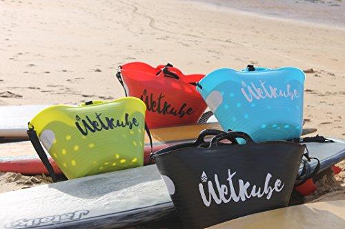 WETKUBE Surf. Sistema Patentado Que acelera el Secado del Neopreno mientra se transporta. (Verde)