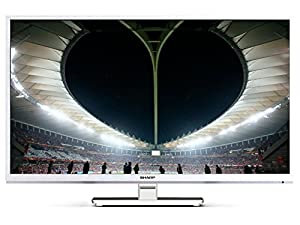 Sharp LC-22CFE4000EW FHD E-LED TV, Freeview, White, 2 HDMI inputs, USB for multimedia playback and recording
