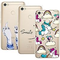 Yokata [3 Packs Redmi Note 5A Hülle Silikon Transparent Durchsichtig Handyhülle Schutzhülle TPU Dünn Slim Kratzfest... preisvergleich bei billige-tabletten.eu