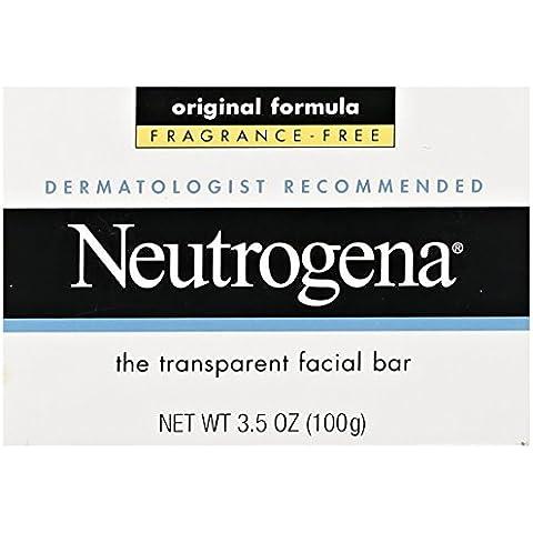 Neutrogena, Facial Bar, Original Formula, Fragrance Free, 3.5 oz by J&J CONSUMER SWELL ALLOWANCE