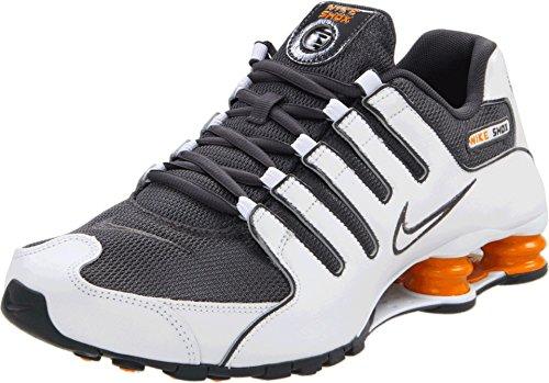 Nike Shox NZ Mens Running Shoes 378341-138 White 8 M US