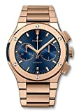 Hublot Classic Fusion Blue Chronograph King Gold Bracelet 45mm 520.OX.7180.OX