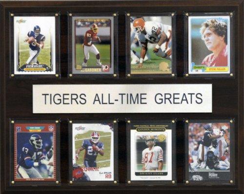 C & I Collectables NCAA Clemson Tigers Liste der Spieler-Größen Plaque