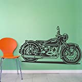 StickMe 'Soul Mate - Bike Wall Sticker'- SM 092 ( PVC Vinyl - 100cm X 65 Cm )