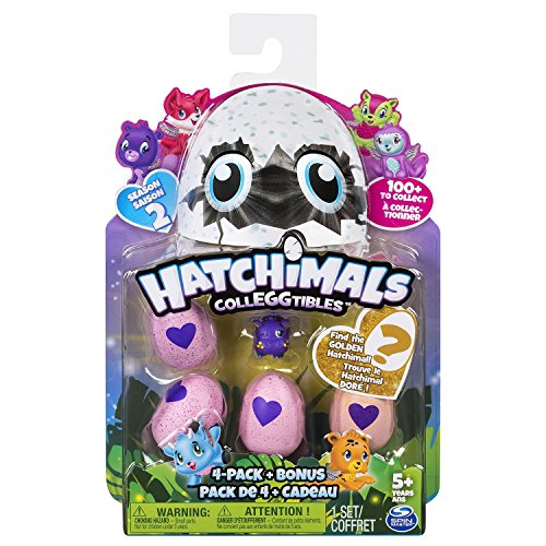 "Preisvergleich Produktbild Hatchimals 6041338 ""Collegtibles 4 Pack + Bonus - Season 2"" (Assorted)"
