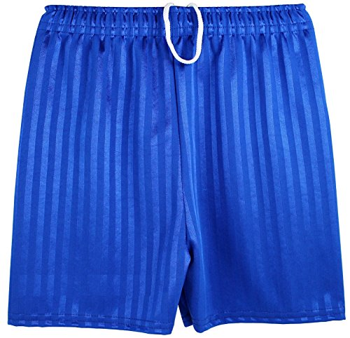 boys-girls-unisex-shadow-stripe-gym-sports-football-games-school-pe-shorts-x-large-9-10-years-royal-