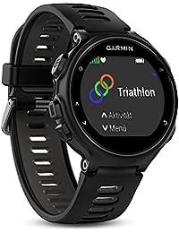 Garmin Forerunner 735XT GPS Multisport and Running Watch, Black/Grey