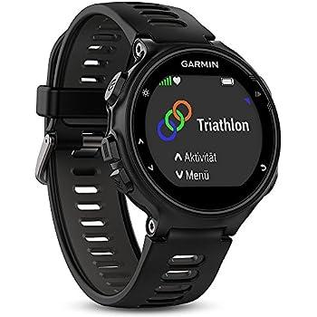 Garmin Forerunner 735XT - Montre GPS Multisports avec Cardio Poignet - Noir/Gris