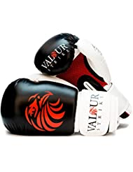 Valour Strike Boxing Gloves Sparring ★ Pro 4oz - 16oz Punch Bag Fight MMA Muay Thai Grappling Fight Mitts Martial Arts Training Kickboxing Punching Glove ★