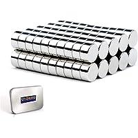 Petits Aimants de Réfrigérateur – 6mm x 3mm - Mini Aimant en Néodyme Ultra Puissant pour Frigo, Surfaces Magnétiques…
