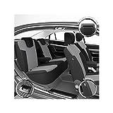 DBS 1012069 Housse de siège Auto/Voiture - Sur Mesure - Finition Haut de Gamme - Montage Rapide - Compatible Airbag - Isofix