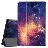 Fintie Custodia Cover per Samsung Galaxy Tab A 10.5 2018 Modello SM-T590/T595, Ultra Sottile Di Peso Leggero Tri-Fold Case Protettiva Cover con Funzione Sleep/Wake, Galaxy
