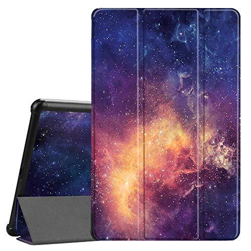Fintie Hülle für Samsung Galaxy Tab A 10.5 2018 - Ultra Schlank Superleicht Schutzhülle Cover Case mit Auto Schlaf/Wach Funktion für Galaxy Tab A SM-T590/T595 10.5 Zoll Tablet-PC, Die Galaxie