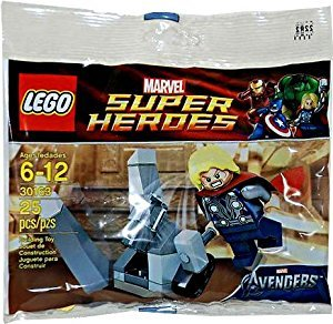 Lego Super Heroes Thor and the Cosmic cube 30163 (Lego Super Heroes-thor)