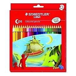 Staedtler Luna Coloured Pencil, 24 Shades
