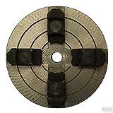 MANDRINO PER TORNIO A LEGNO A 4 GRIFFE INDIPENDENTI ø 150 mm PER TORNI EINHELL VALEX E MARCHE COMPATIBILI