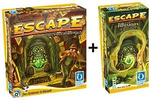 Queen Games 61046 - Escape Basisspiel mit Erweiterung 1: Illusions