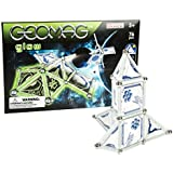 Geomag 76 Piece Space Glow in the Dark Set (76 Pieces) - Swiss Made Magnetic Building Set