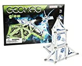 Geomag Space Glow in the Dark, Swiss Made Magnetic Building Set